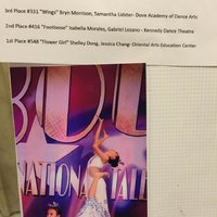 Jessica Chang and Shelley Dong_Flower Girl was awarded 2015 Star Bound National Competition Junior Intermediate Duet and Trios top 1 and STARQUEST High Gold.