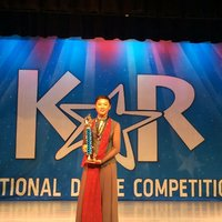 Grace Jing won the Top Level 1st Place and High Point Award No 5  at KAR 2015 National Dance Competation