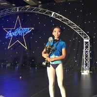 Joline Sun won Folkloric 1st place gold award and overall 2nd place at 2015 ShowStopper