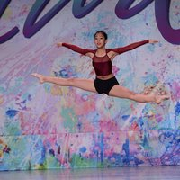 Explosions by Jadelynn Ko awarded 1st Overall Platinum on Lyrical solo age 13 level at Starquest National 2015.