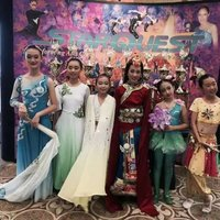 Joline Sun_Chinese Barbie_won Double Platinum_Category 1st place and 6th Overall at Showstopper 2015 National.