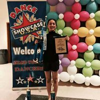 Vivian Ye overall 2nd at (Starquest) and overall 3rd at Danceshowcase